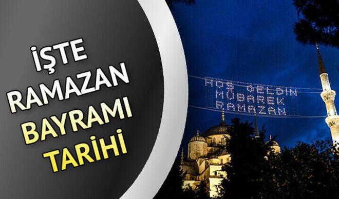 Ramazan bayramı ne zaman? Arefe günü hangi gün ve bayramın 1. günü ayın kaçında? İşte 2021 bayram takvimi