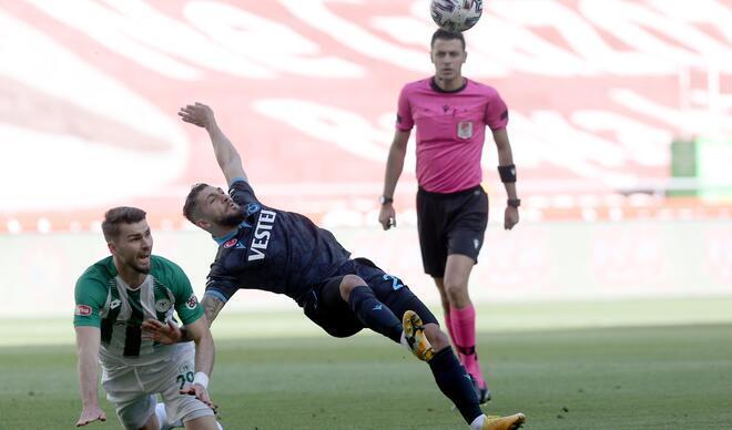 Konyaspor Trabzonspor maçından fotoğraflar