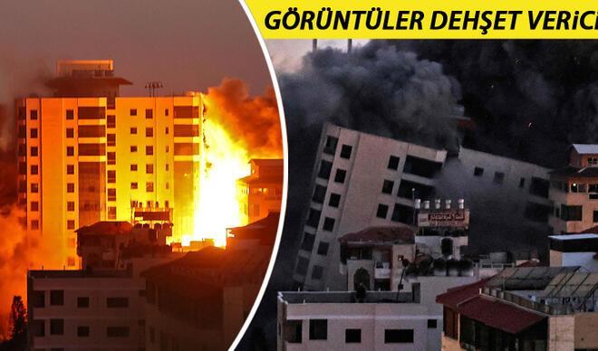 Son dakika haberi... İsrail vahşette sınır tanımıyor! Gazze'ye bomba yağdırıyor