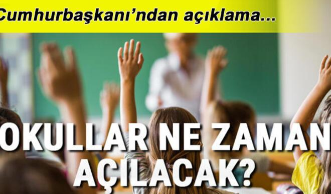 Okullar ne zaman açılacak? Bayramdan sonra ilkokul, ortaokul ve liseler açılacak mı? Kritik açıklama!