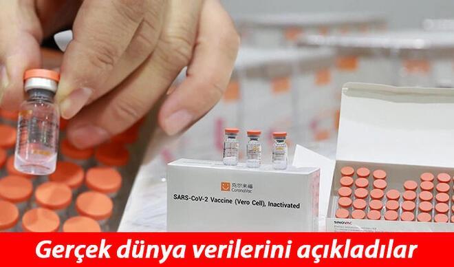 Sinovac aşısının gerçek dünya verileri açıklandı! İşte Türkiye'nin de kullandığı aşının etki oranı