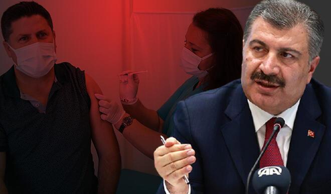 Sağlık Bakanı Koca duyurmuştu! Koronavirüs aşılamasında yeni safha başladı