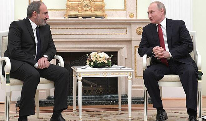 Putin ve Paşinyan arasında Dağlık Karabağ görüşmesi
