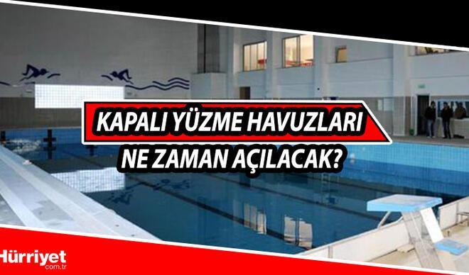 Kapalı yüzme havuzları yasak mı, ne zaman açılır? Kapalı yüzme havuzları için genelge detayı!