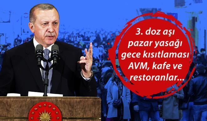 Son dakika haberi: Kabine toplantısı sona erdi! Cumhurbaşkanı Erdoğan açıklama yapıyor.. Pazar günü ve yasaklar....