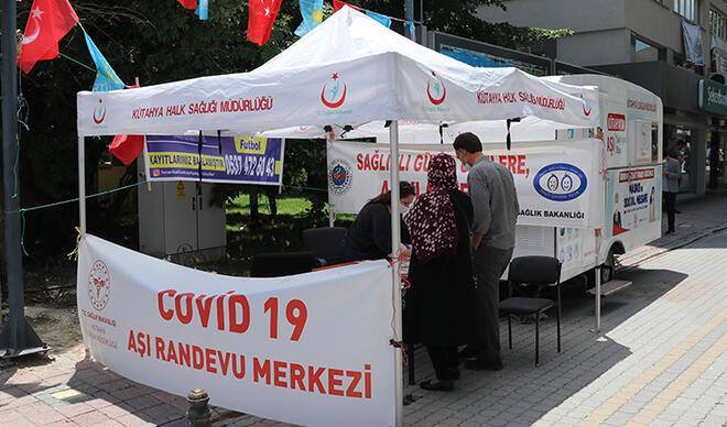 Koronavirüs vaka sayısı artan Kütahya'da vatandaşlara aşı çağrısı