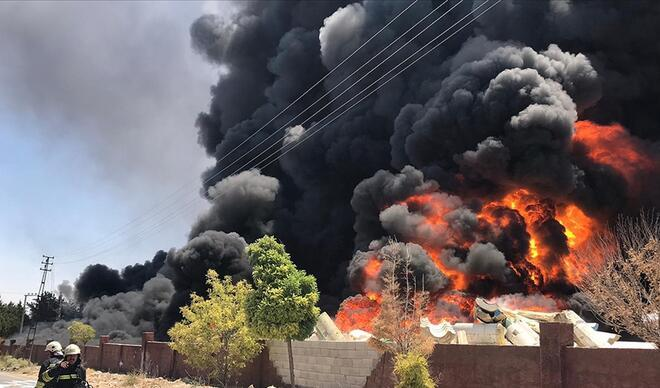 Gaziantep'teki patlama seslerinin nedeni belli oldu - İşte Gaziantep yangınında son durum...