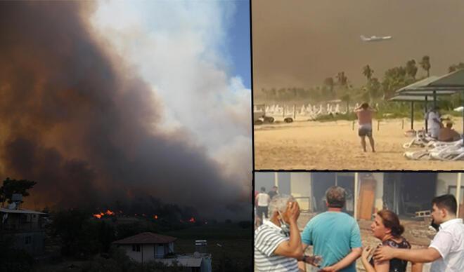 Manavgat'ta büyük felaket! Bakan'dan çağrı: Dumanı görüyorsanız....