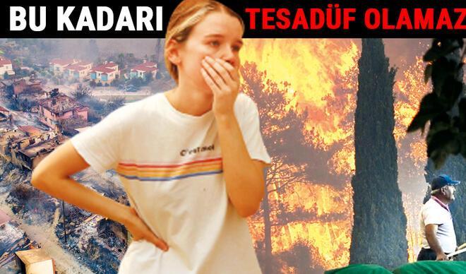 Manavgat Marmaris Bodrum Adana Osmaniye Mersin Kayseri'de orman yangını... Kimin işi?