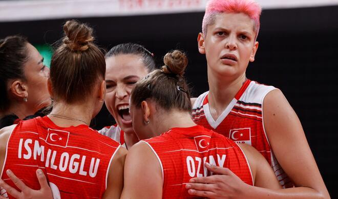 Filenin Sultanları çeyrek finalde! Olimpiyat tarihimizde ilk kez... (Türkiye - Arjantin maçı fotoğrafları)