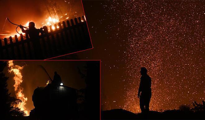 Yangın Yunanistan'ı sardı... Alevler yerleşim bölgelerine ulaştı: Mecbur olmadıkça sokağa çıkmayın!