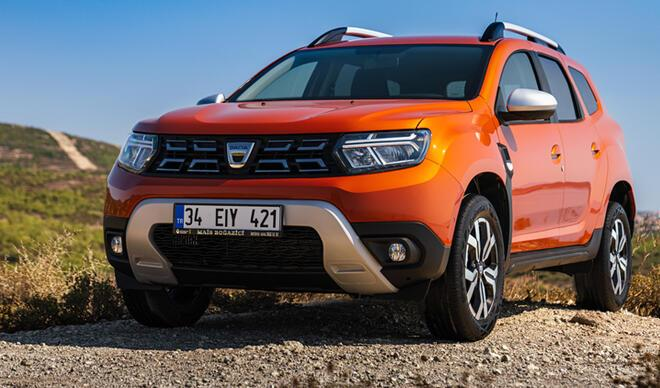 Bir depoya 1235 kilometre! Dacia Duster yenilendi…