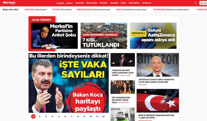 Hurriyet.com.tr yenilendi