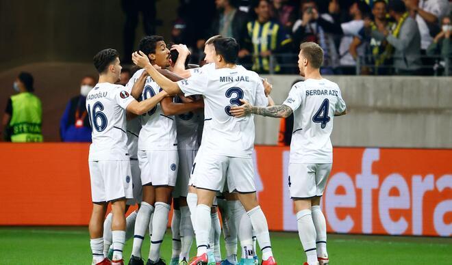 Eintracht Frankfurt-Fenerbahçe maçından en özel fotoğraflar!