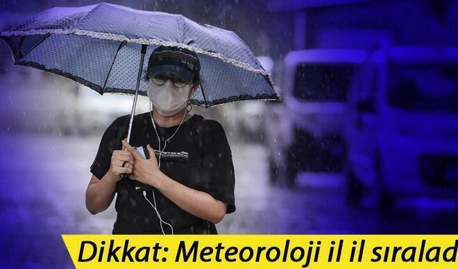 Bugün hava nasıl olacak? Meteoroloji'den yağış uyarısı! İşte 17 Eylül son dakika hava durumu tahminleri