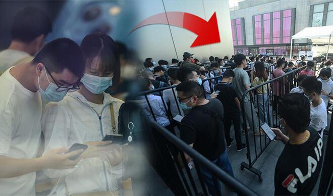 iPhone 13 aşkı pandemi dinlemedi!