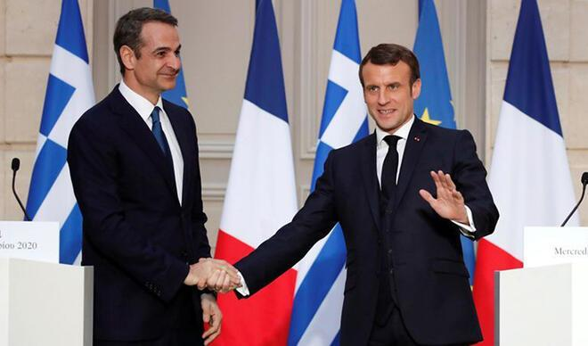Macron açıkladı: Yunanistan, Fransa'dan 3 fırkateyn alıyor