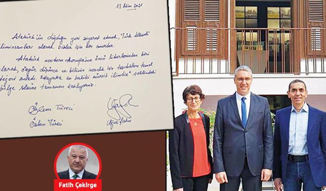 'Yunan terbiyesizliği'ne Atatürk'ün evinden cevap