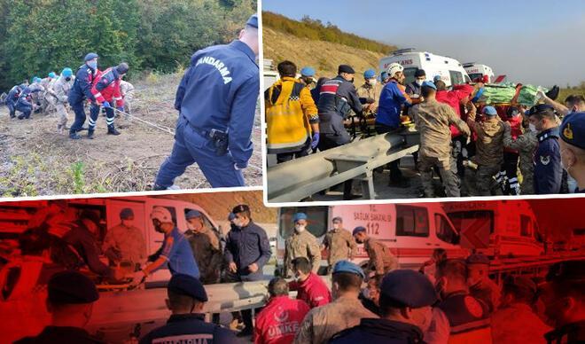 Samsun'da yolcu otobüsü dereye yuvarlandı! Ölü ve yaralılar var