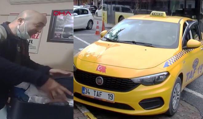 Gurbetçi bagajda 1 milyon 700 bin TL'sini unuttu örnek taksiciler parayı ulaştırdı