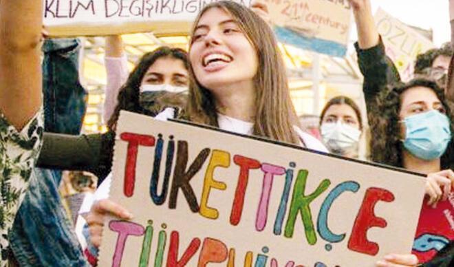 Türkiye'nin Greta'sı