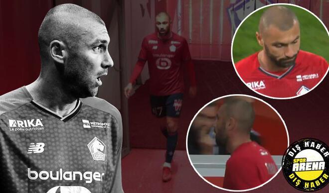 Son Dakika: Lille - Brest maçına damga vuran kriz! Taraftarın sabrı taştı, Burak Yılmaz ıslıklandı ve...