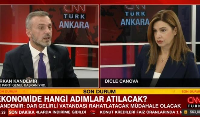 AK Partili Kandemir CNN Türk'te anlattı! Ekonomide hangi adımlar atılacak?