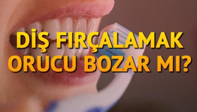 Ramazan'da diş fırçalama orucu bozar mı?