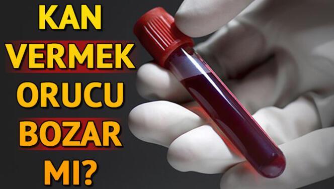 Diyanet'e göre kan vermek orucu bozar mı?