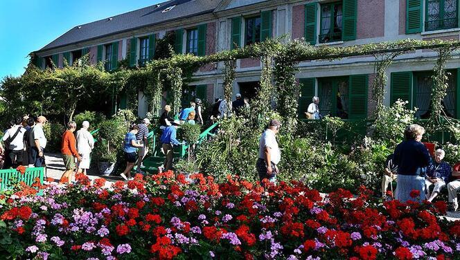 Monet'yi en çok yabancılar ziyaret etti
