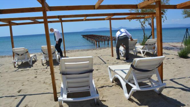 Ayvalık'ta turizm hazırlıkları hızlandı