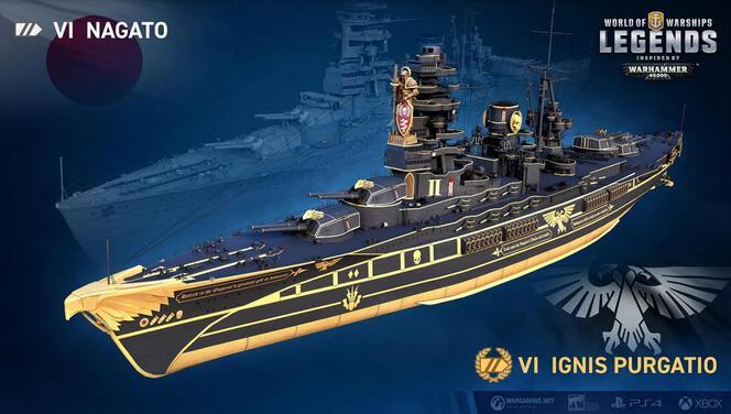 Warhammer 40.000, World of Warships evrenine dahil oluyor