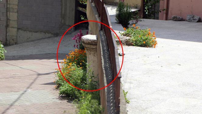 Bolu'da tepki çeken görüntü! Bahçe duvarında kullanmışlar...