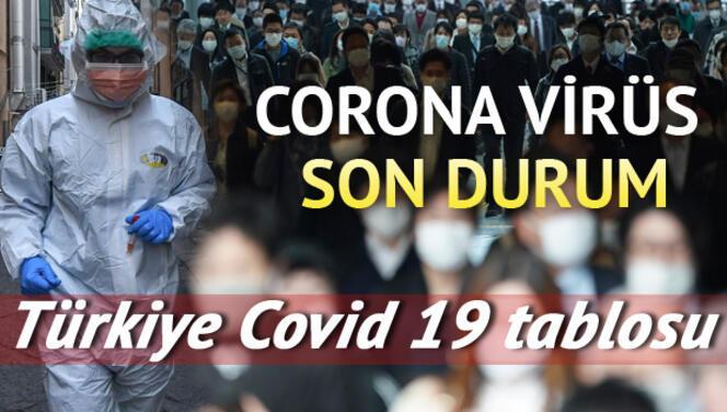 Corona Virüs (Koronavirüs) 4 Haziran tablosunda son durumu: Türkiye'da kaç vaka var ve ölüm sayısı nedir? Covid 19 haritası