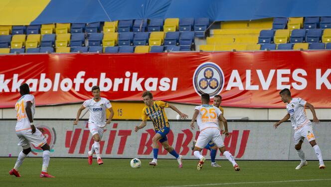 Ankaragücü-Alanyaspor maçından en özel kareler!