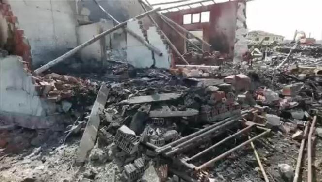 Sakarya'daki fabrikanın içi ve çevresinde oluşan hasarın boyutu gün yüzüne çıkmaya başlıyor