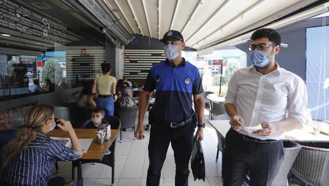Ankara'da maske denetimi