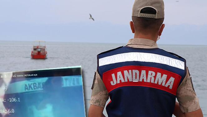 Van Gölü'nde batan teknenin yeri tespit edildi