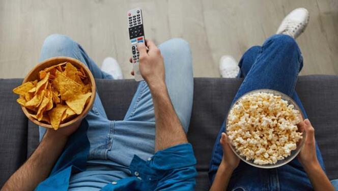 Dizi İzlerken Ne Yediğinize Dikkat Edin!