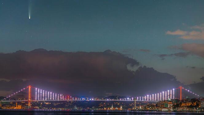Neowise kuyruklu yıldızı, İstanbul semalarında görüntülendi