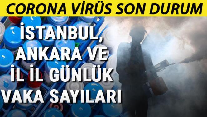 5 Ağustos Koronavirüs Türkiye tablosu: Vaka ve ölüm sayısı... İstanbul, Ankara ve İl il günlük corona virüs vaka sayıları