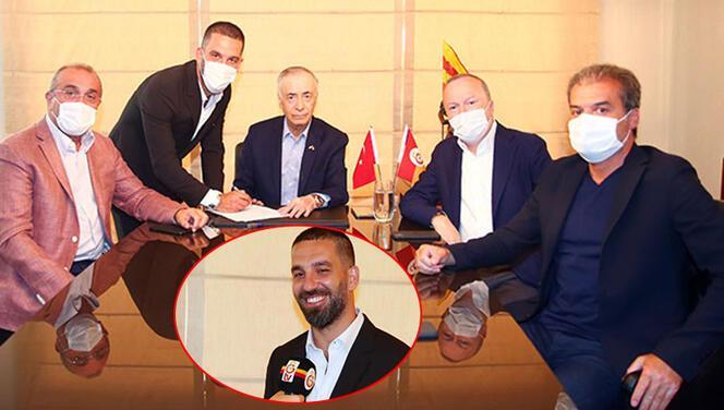 Son Dakika | Arda Turan, Galatasaray'a imzayı attı ve taraftara seslendi! Fatih Terim itirafı...