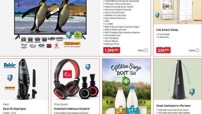 BİM 14 Ağustos aktüel ürünler kataloğu televizyon ve kulaklık ile öne çıkıyor!