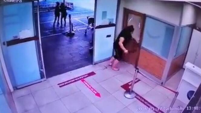 Maske takmayan kadın hastanede ortalığı birbirine kattı