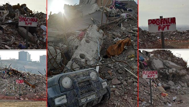 İzmir'deki deprem sonrası çarpıcı kareler