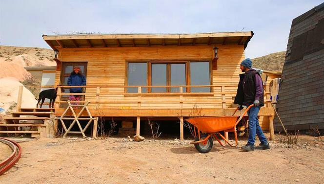 İstanbul'dan kaçıp çiftlik kurdular! Koronavirüsten uzak doğayla iç içe izole bir yaşam...
