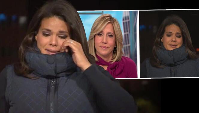 CNN muhabiri canlı yayında gözyaşlarına hakim olamadı
