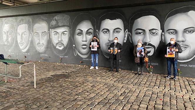 Hanau kurbanları Frankfurt'ta anıldı