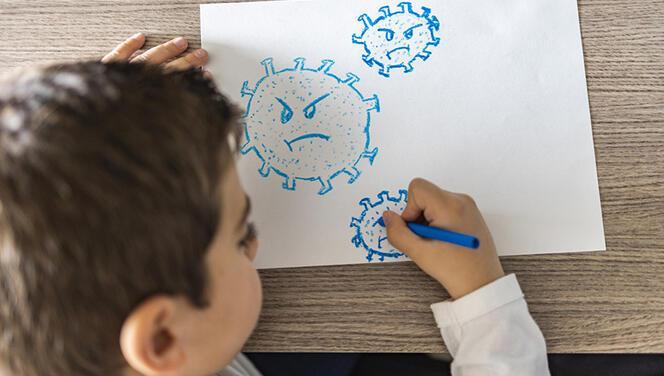 """Çocuklarla koronavirüs hakkında sohbet   """"Çık hayatımdan"""" diye isyan eden de var onu tehdit eden de"""