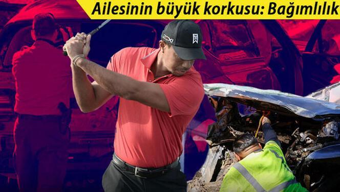 Dünyanın konuştuğu trafik kazası sonrası kahreden detay! 'Tiger Woods bir daha...'